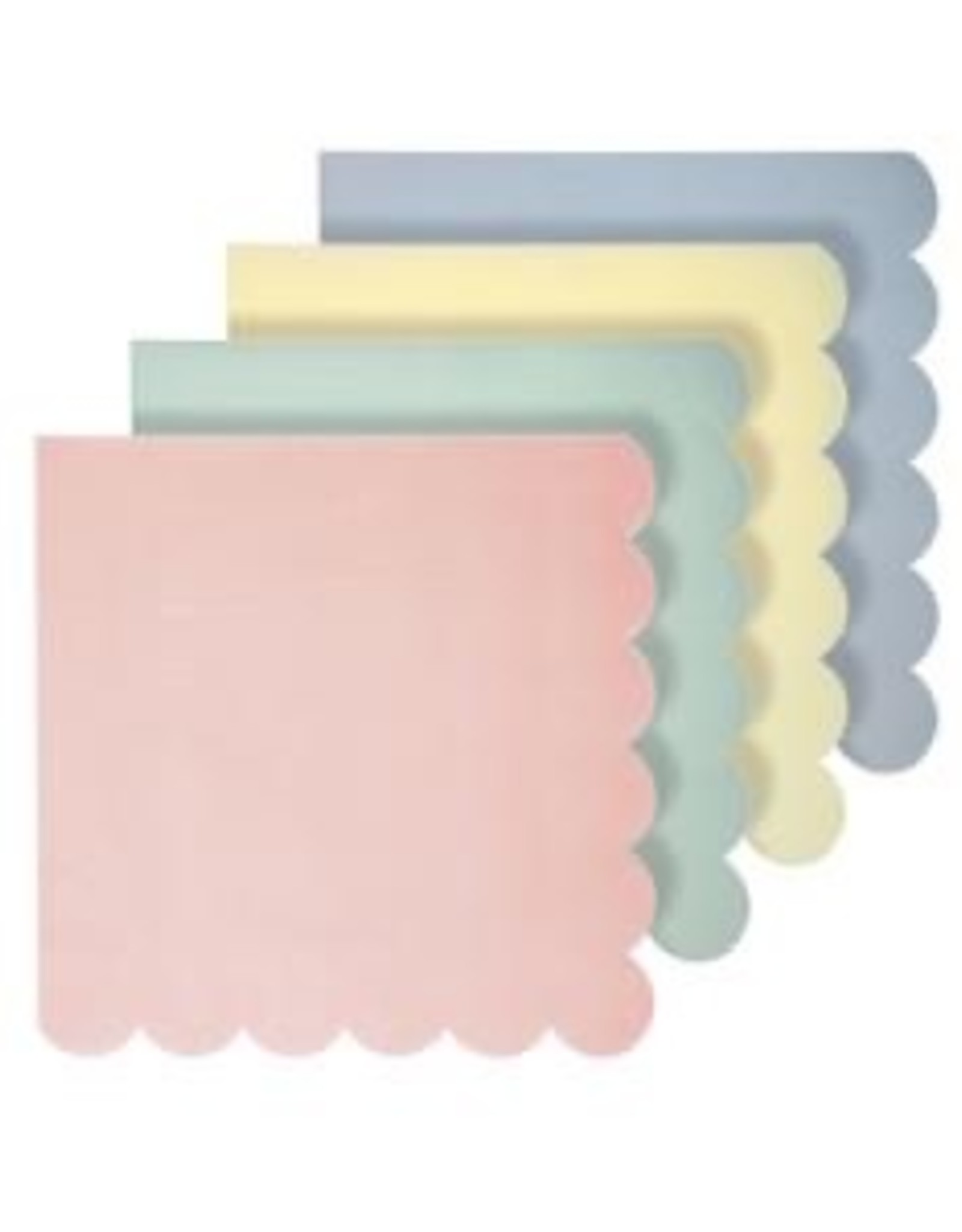 Assorted Pastel Napkins