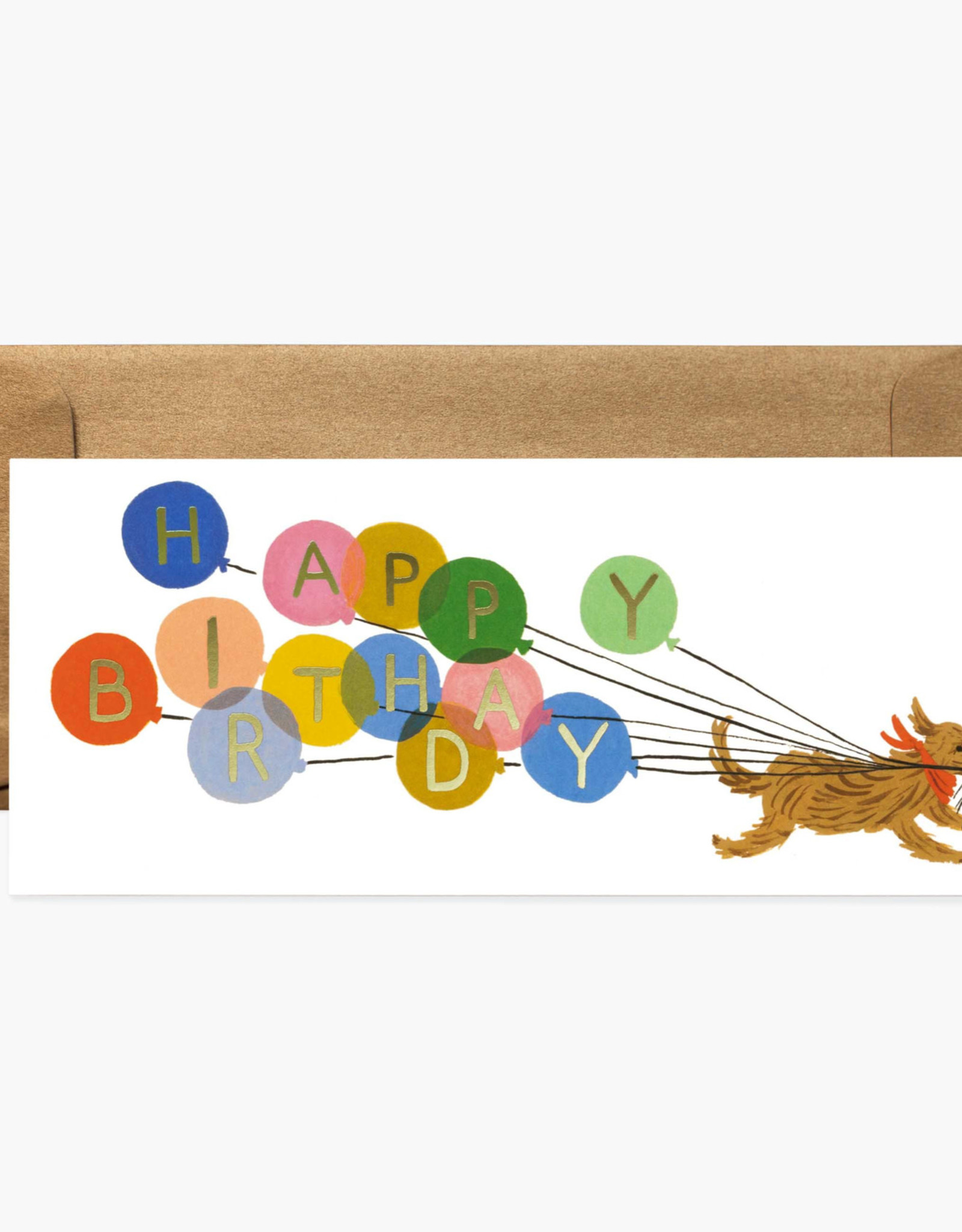 Birthday Balloon No. 10 Card