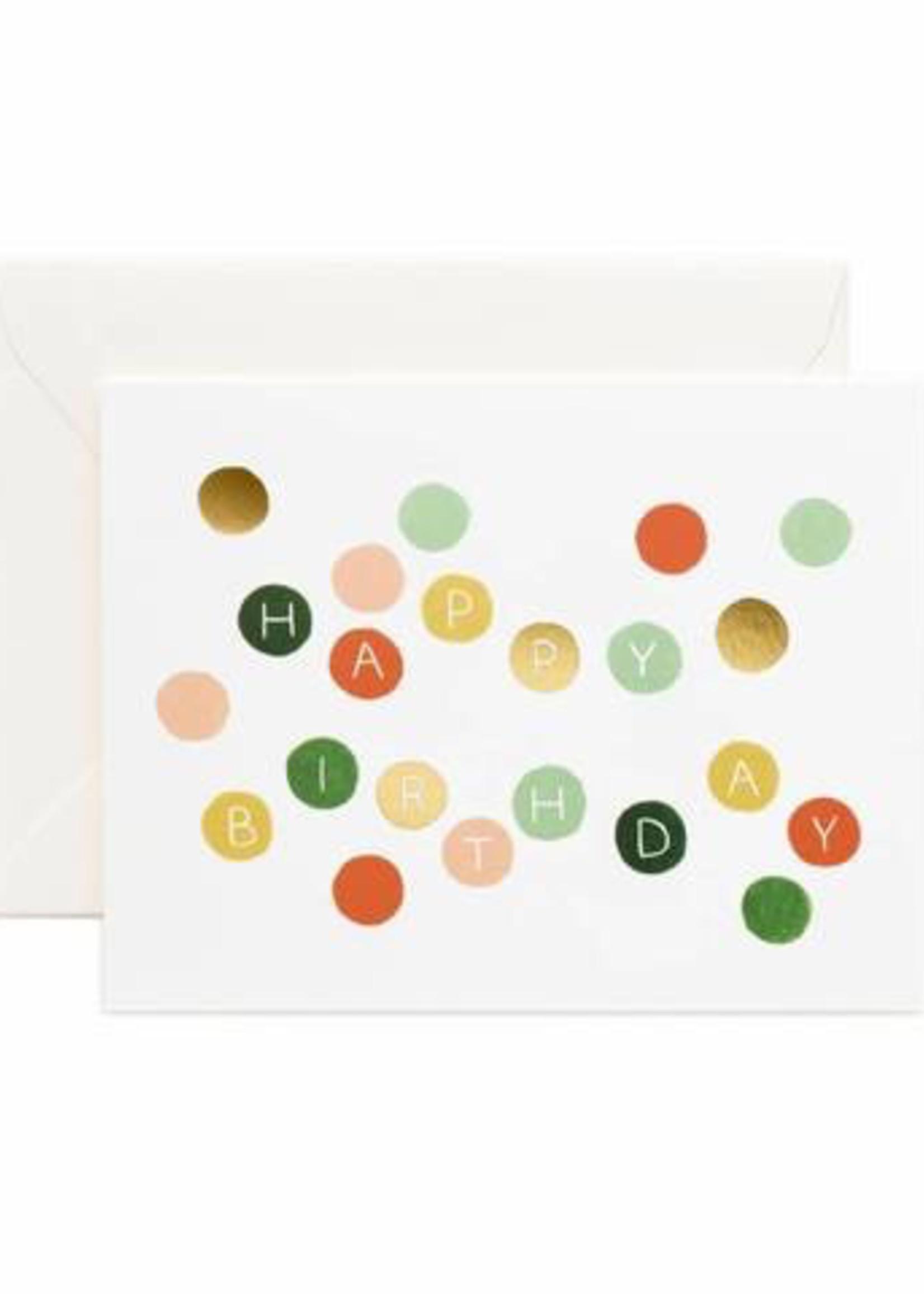 Birthday Dots Card