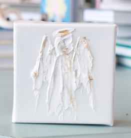 BJ Weeks BJ 2020 Angel on Canvas