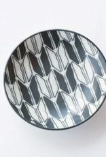Black and White Geo dish