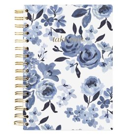 Blue Roses Take Notes Notebook