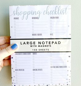 Blue Shopping Checklist