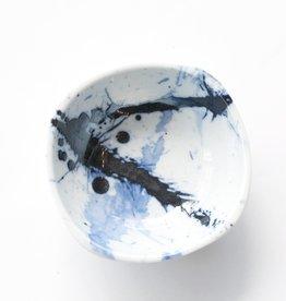 Blue Splatter Bowl