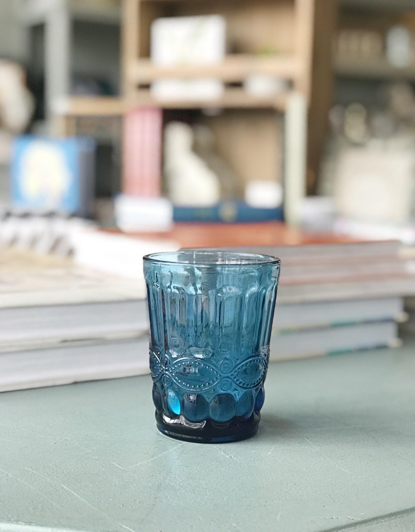 Blue Vintage Glass