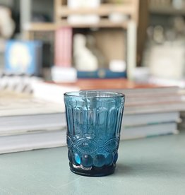 Blue Vintage Glass