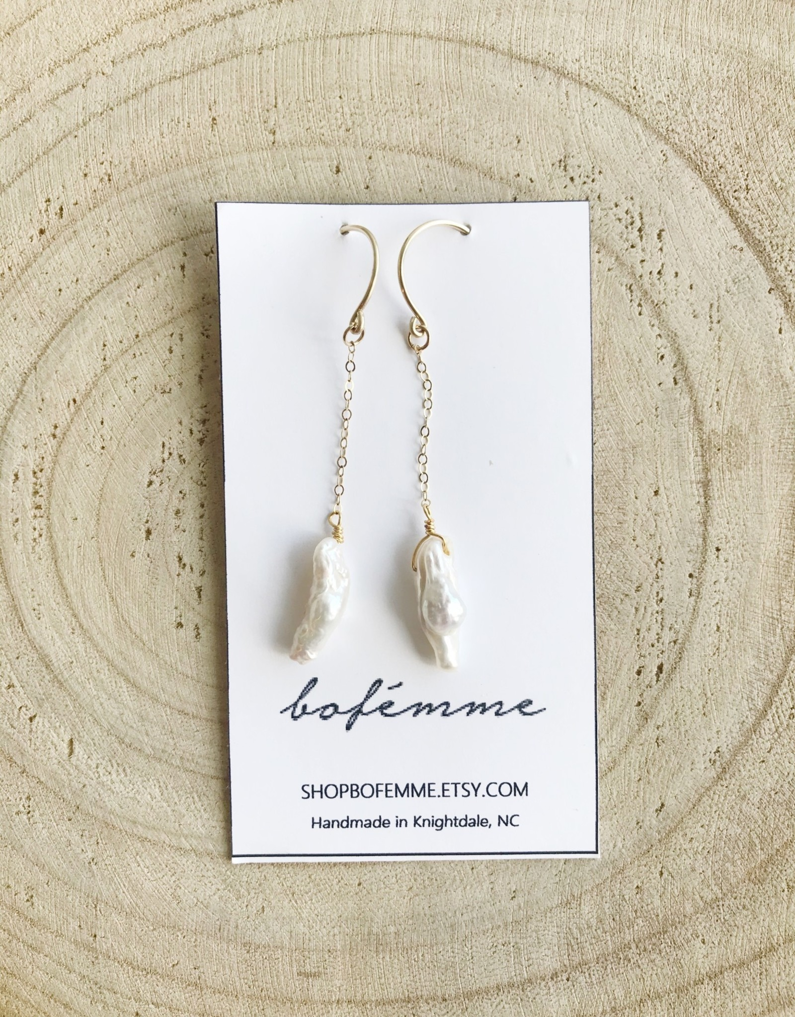 Bofemme Bofemme Baroque Drop Earrings