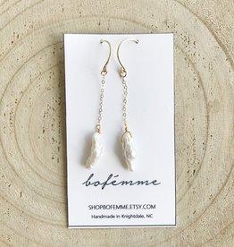 Bofemme Bofemme Baroque Drop Earrings
