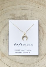 Bofemme Bofemme Crescent Necklace