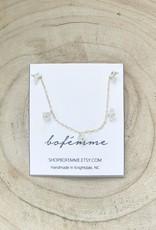 Bofemme Bofemme Herkimer Drop Necklace