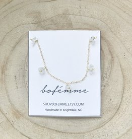 Bofemme Bofemme Herkimer Drop Necklace