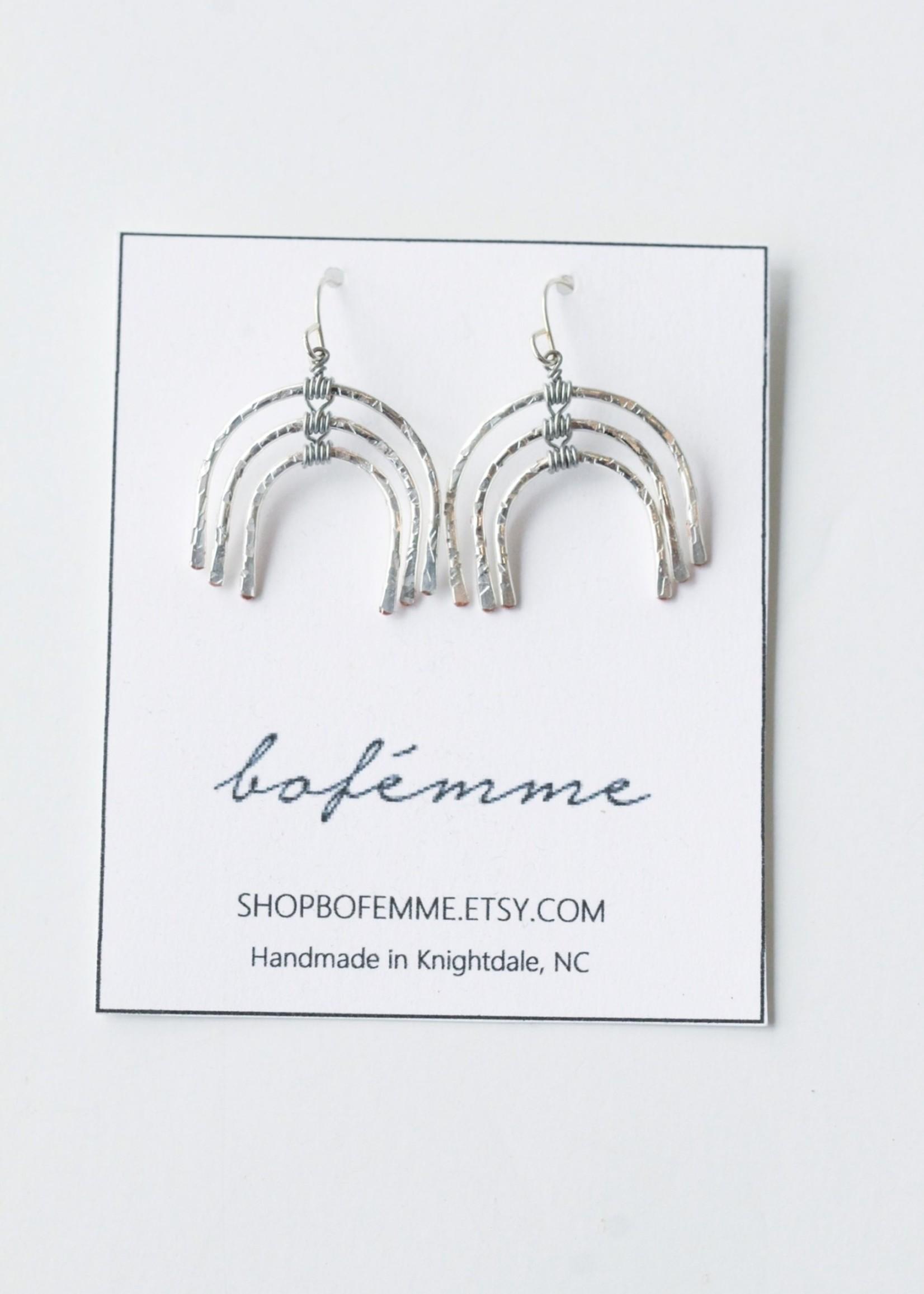 Bofemme Bofemme Sm Rainbow Earrings