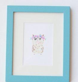 Boho Owl Print