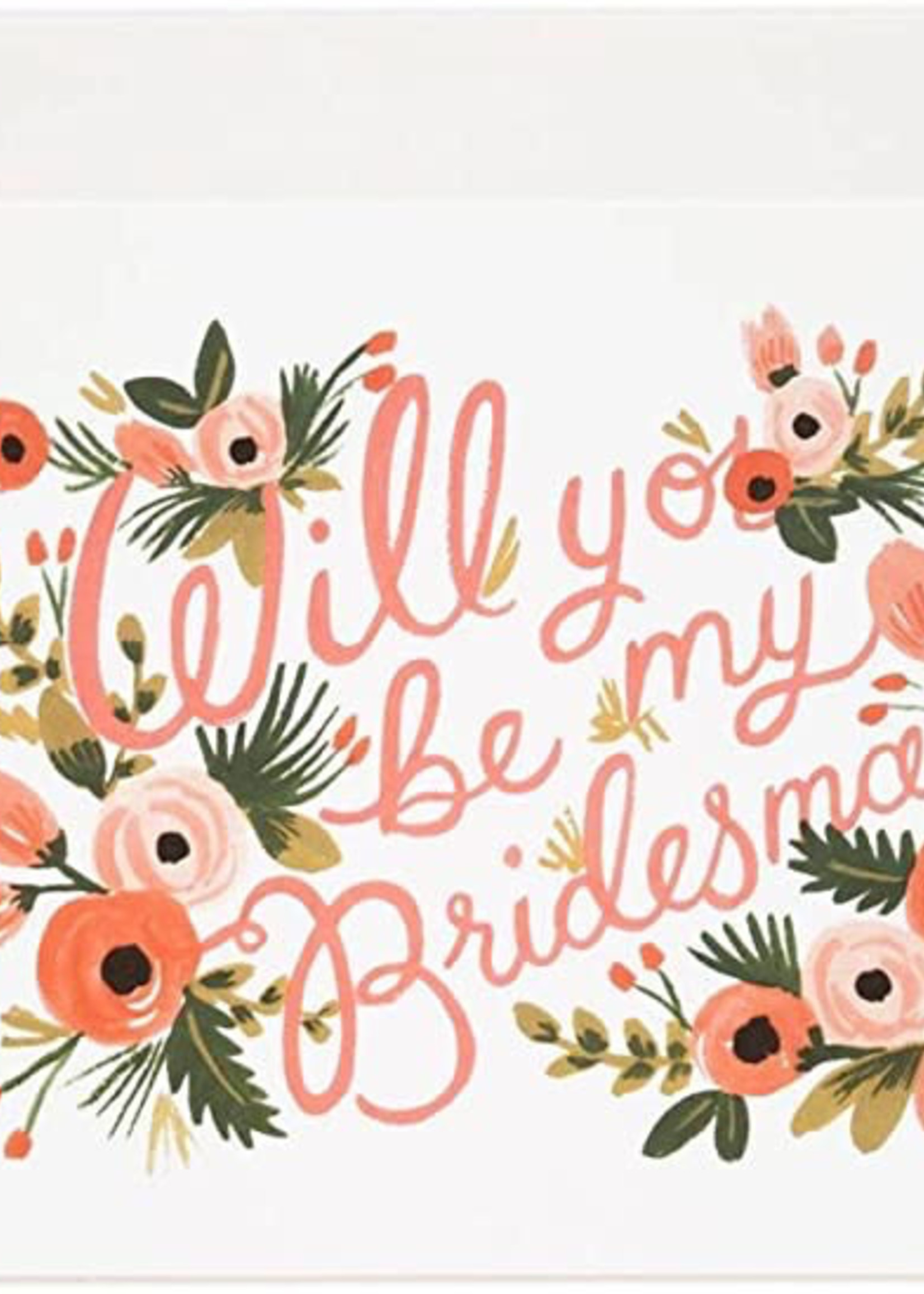 Boxed Set Will You Be my Bridesmaid Cards