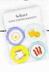 Seltzer Breakfast Magnet Set