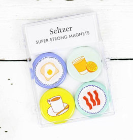 Seltzer Breakfast Magnet Set