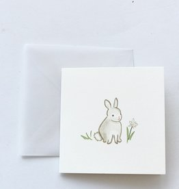 Karen Adams Bunnies Mini Card