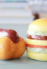 Burger & Hot Dog Salt and Pepper Shakers