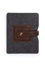 Cache iPad Sleeve Dark Brown
