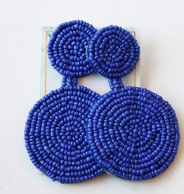 Calm Down Earrings Blue