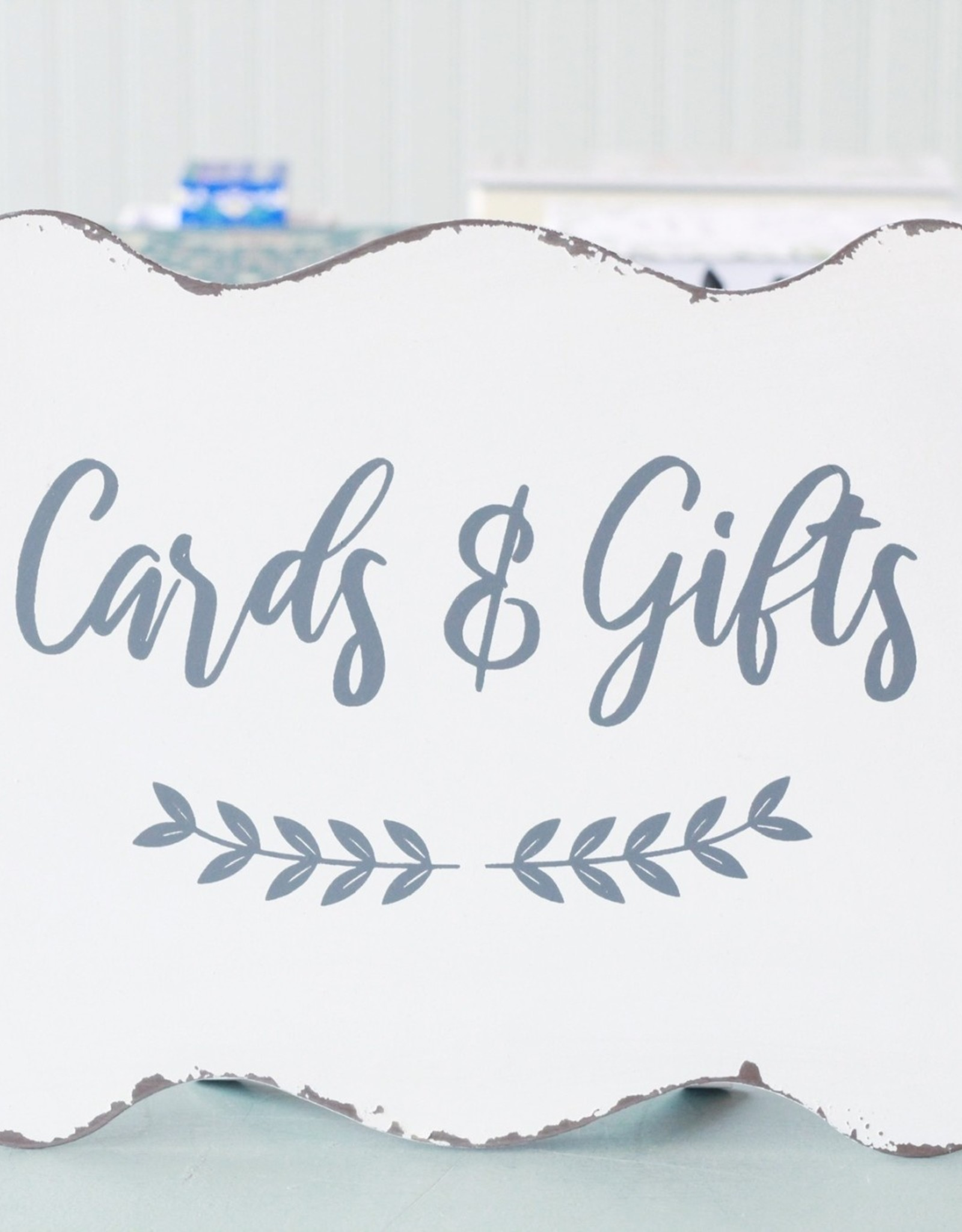 Card and Gift Sign