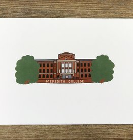 Cardinal Directions CD Meredith College Print