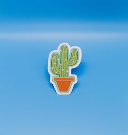 Cardinal Directions CD Stickers - Cactus