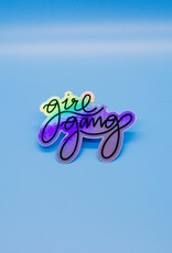 Cardinal Directions CD Stickers - Girl Gang
