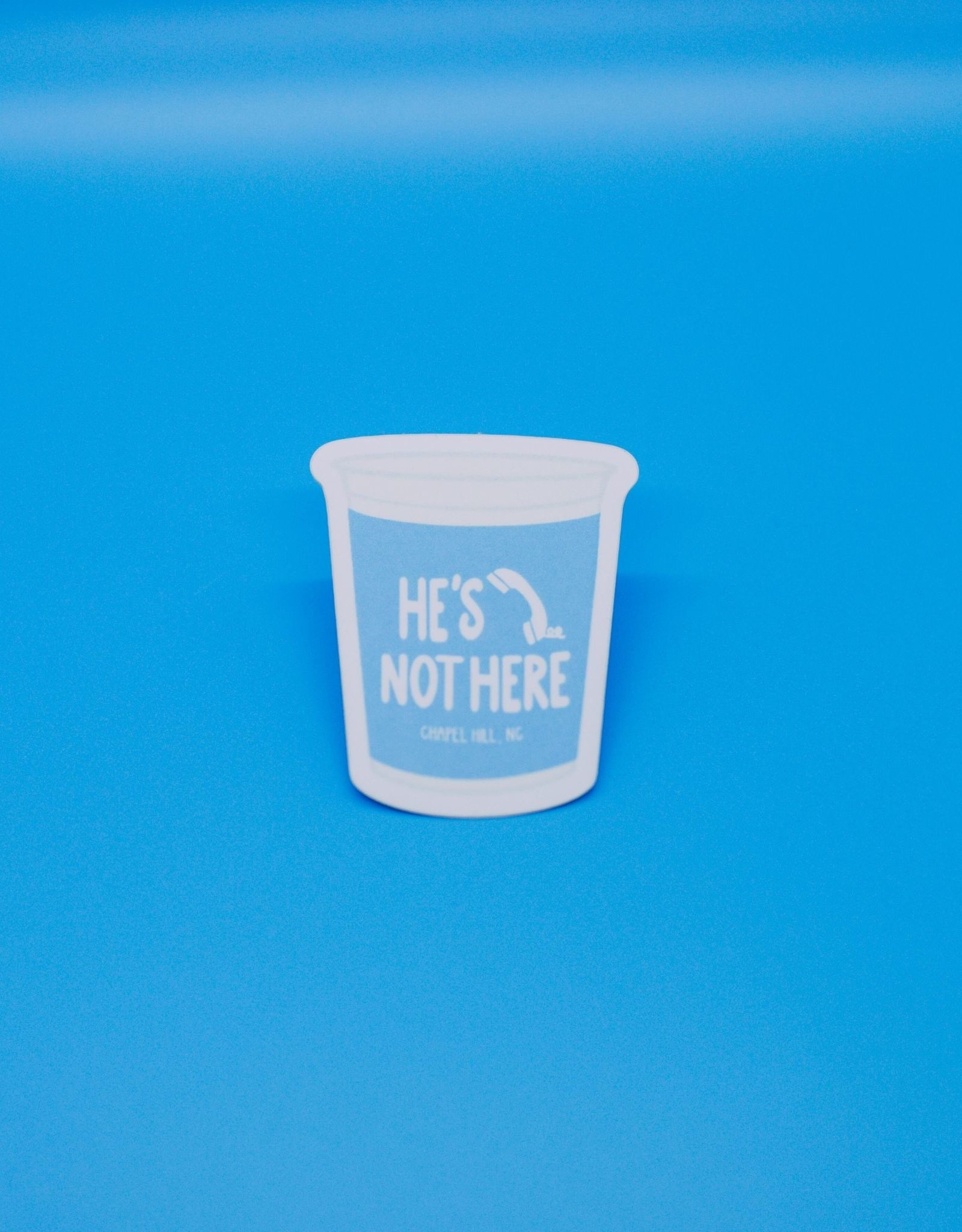 Cardinal Directions CD Stickers - He's Not Here