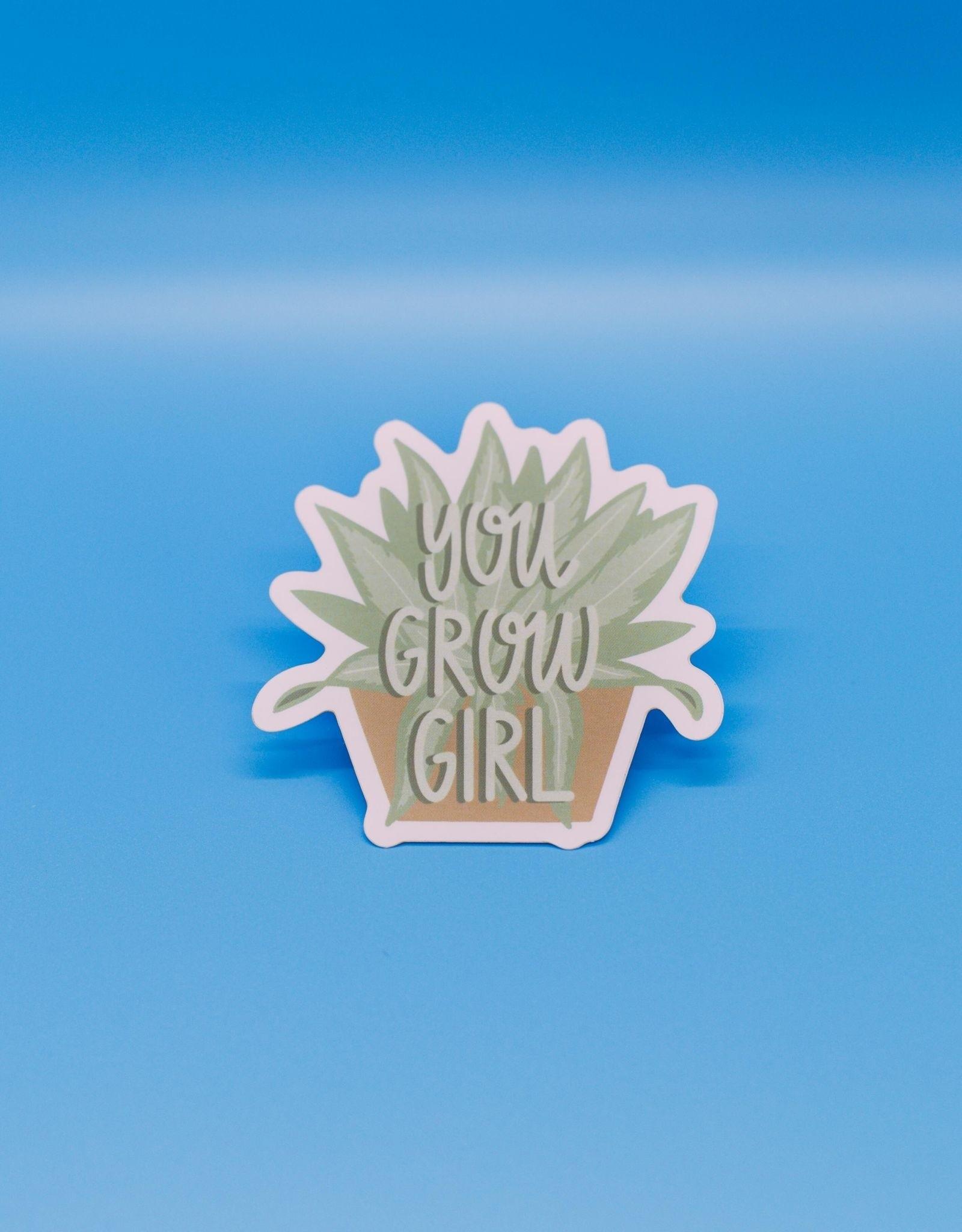 Cardinal Directions CD Stickers - You Grow Girl