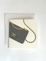 Chanel Bag Mini Card