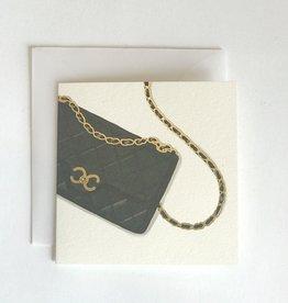 Karen Adams Chanel Bag Mini Card
