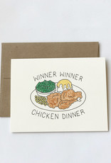 Chateau Blanche Chicken Dinner Congrats Card