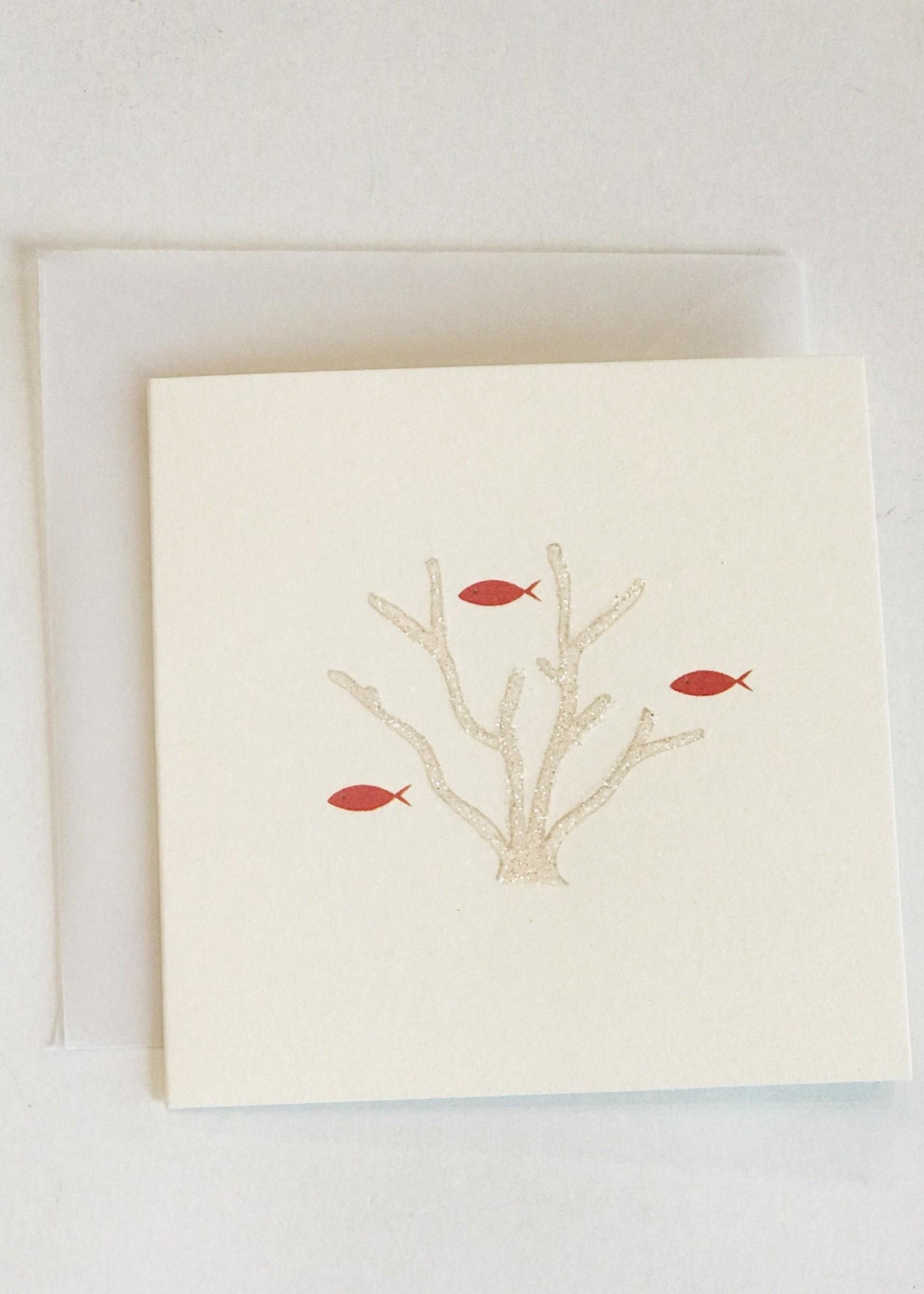 Coral Reef Mini Card
