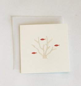 Karen Adams Coral Reef Mini Card
