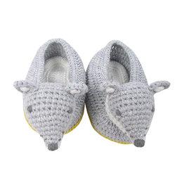 Crochet Wolf Booties
