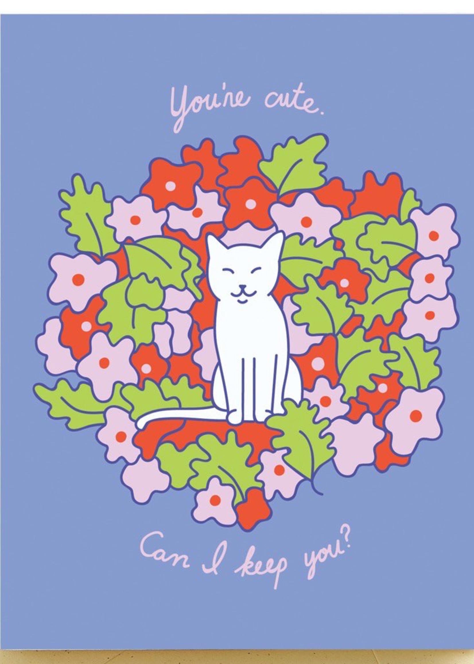 Seltzer Cute Kitty Love Card