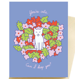 Seltzer Cute Kitty Love Card