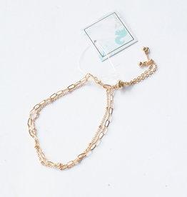 Dainty Gold Chain Bracelet