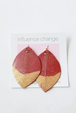 Designed for Joy DFJ Mini Feather Earrings