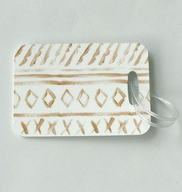 Diamond Luggage Tag