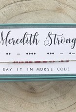 Dot and Dash Meredith Strong Necklace