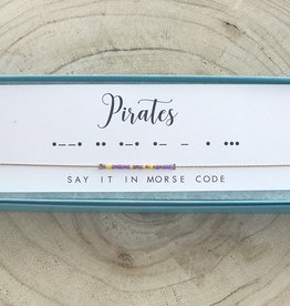 Dot and Dash Pirates Necklace