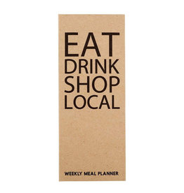 Eat Local Shopping Pad