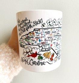 Emily Brooks EB NC Map Mug