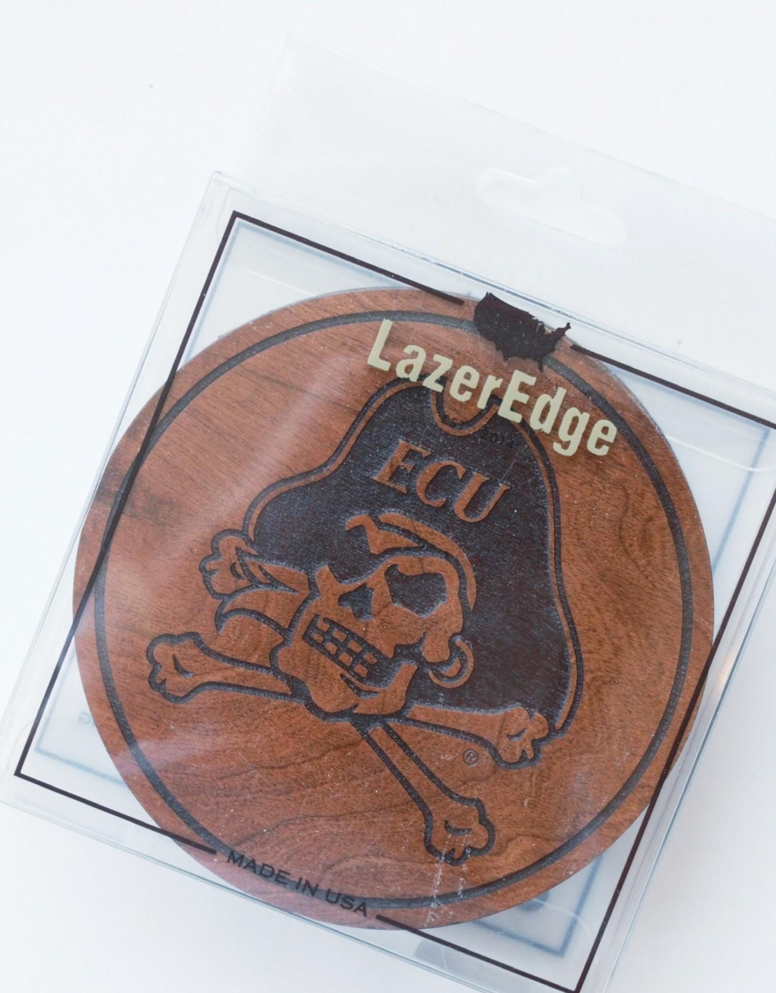 LazerEdge ECU Pirates Coasters