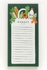 Farmers Market Bag Notepad