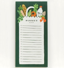 Farmers Market Bag Notepad