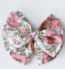 Floral Bow Clip