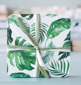 Floral Coaster S/4